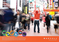 Marvell Branding Ad Life Is Mobile